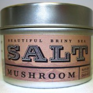Beautiful Briny Sea Mushroom Sea Salt