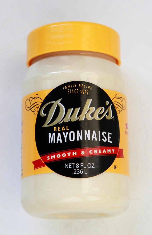 jar of Dukes mayonnaise