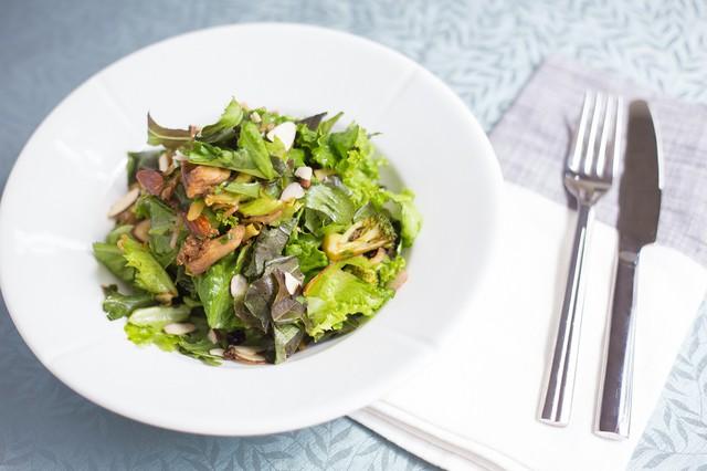 Roasted Broccoli & Mushroom