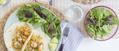 Wild-Caught Georgia Shrimp & Fennel Tacos with Smoked Paprika Mayo