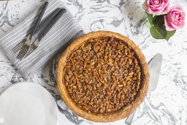Lauren Bolden's Pumpkin Pie with Pecan Praline
