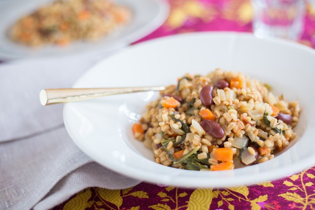 SuperFood Barley Risotto