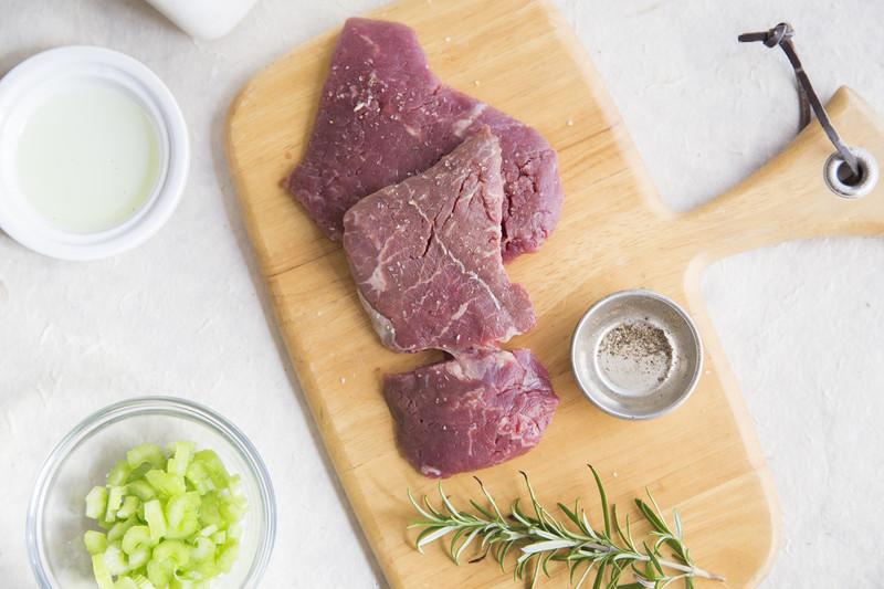 Two Marksbury Farm Cube Steaks