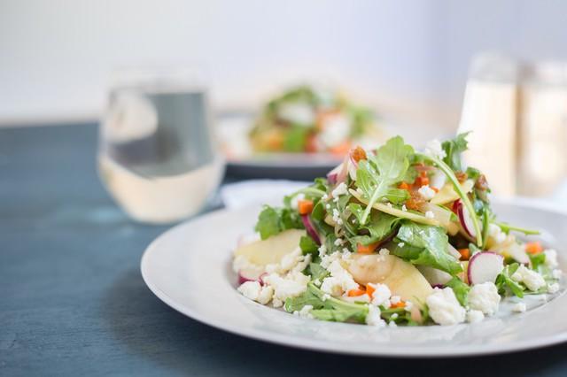 Apple, Radish, & Carrot Salad