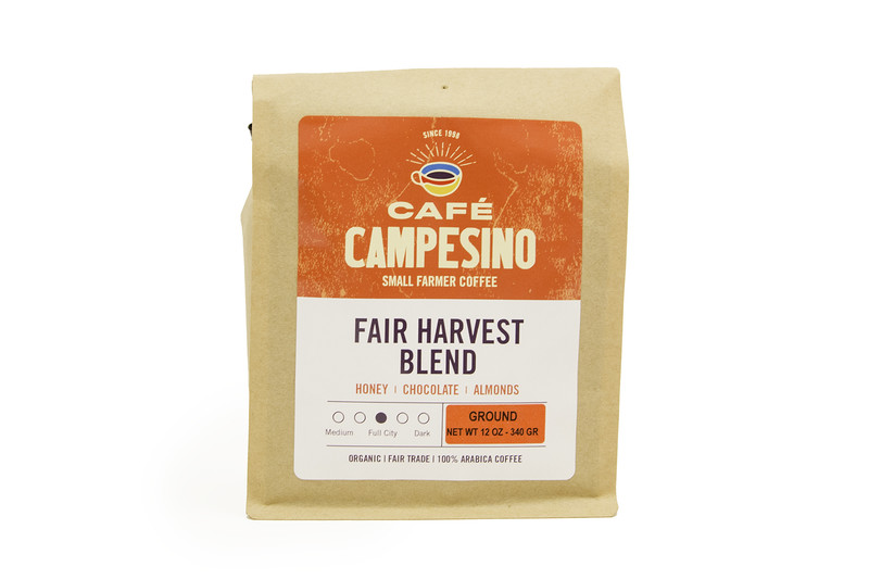 Cafe Campesino Fair Harvest Blend Medium Roast Coffee