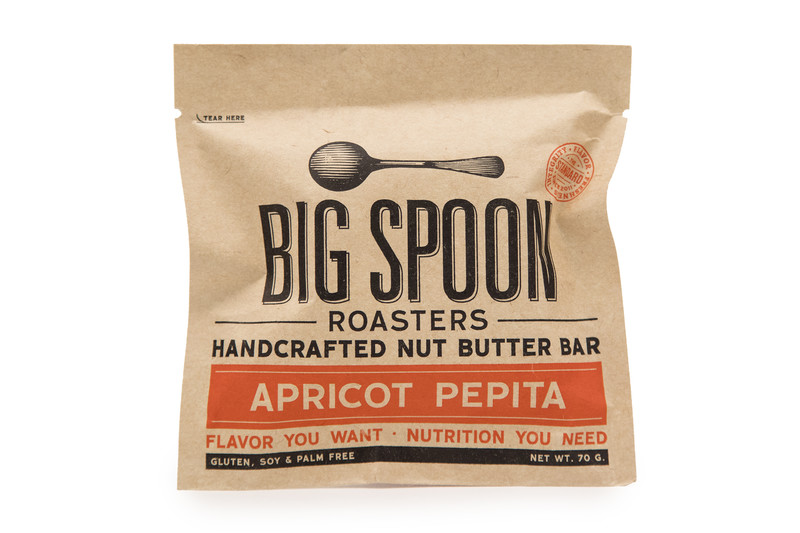 Big Spoon Roasters Apricot Pepita Nut Butter Bar