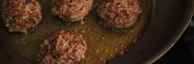 Curried Turkey Meatballs with Escarole and Basmati Rice