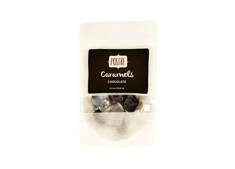 Postre 2.5 oz. Chocolate Caramels