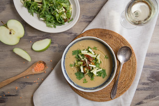 Red Lentil & Celery Soup