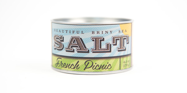 Beautiful Briny Sea French Picnic Sea Salt
