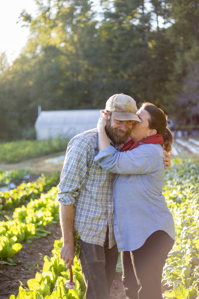 Judith Winfrey and Joe Reynolds on Love is Love Farm
