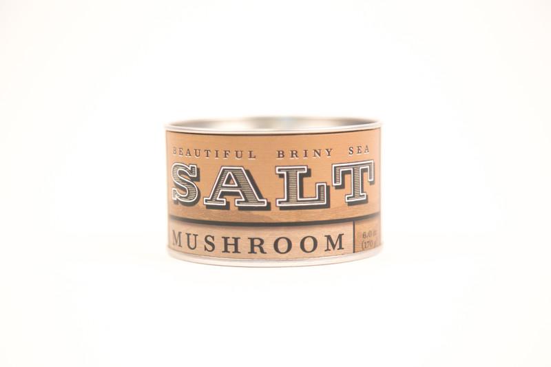 Beautiful Briny Sea Mushroom Sea Salt