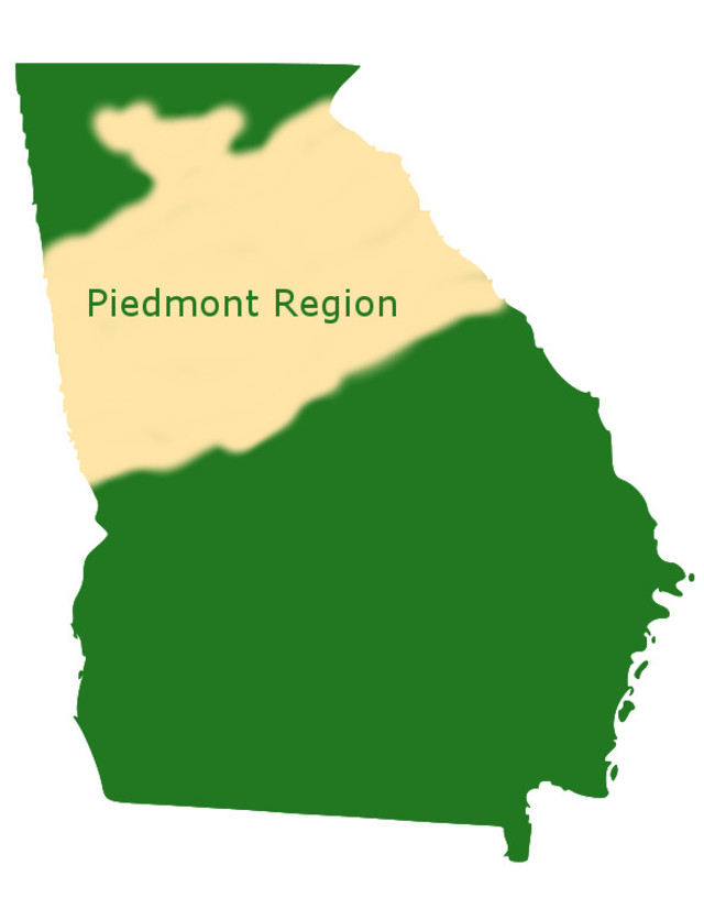 Piedmont Region of Georgia
