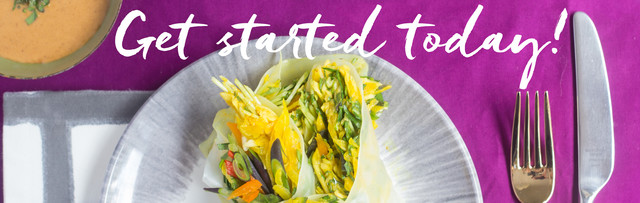 Get Started Today! over the Summer Harvest Rainbow Roll