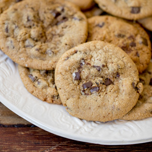 Brown Butter Salted Chocolate Chunk Hero Cookies