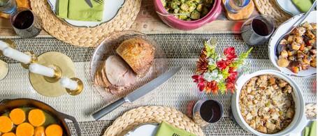 Smoked City Ham & Thanksgiving Sides