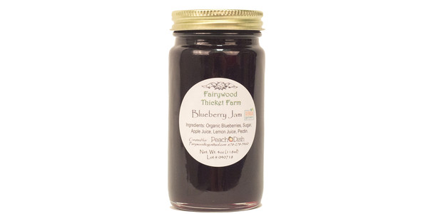 Fairywood Thicket Farm Blueberry Jam