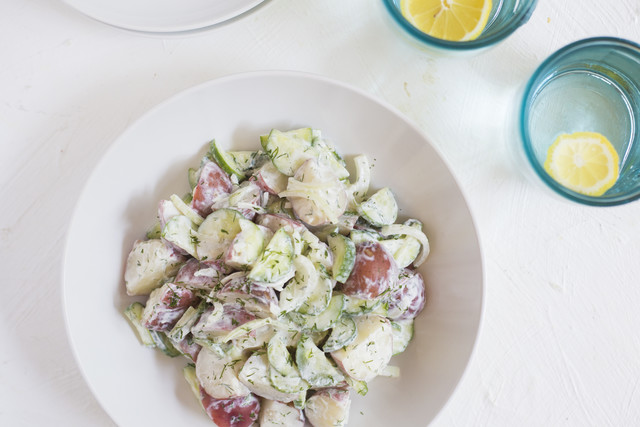 Potato-Cucumber Salad