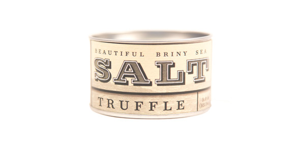 Beautiful Briny Sea Truffle Sea Salt
