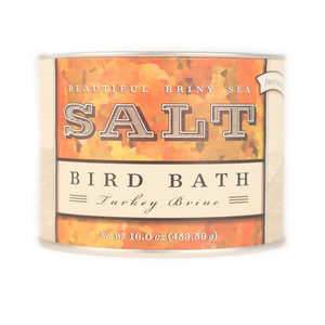 Beautiful Briny Sea Bird Bath Turkey Brine