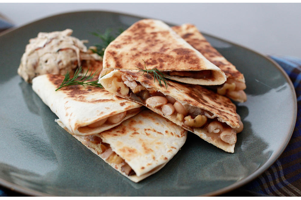 University Motor Company Columbia Sc >> Mushroom, White Bean, and Fontina Quesadillas with ...