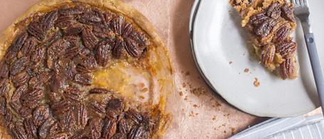 Kentucky Bourbon-Pecan Pie with Organic Butter Crust