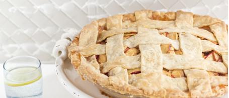 Georgia Apple Pie with Organic Butter Crust