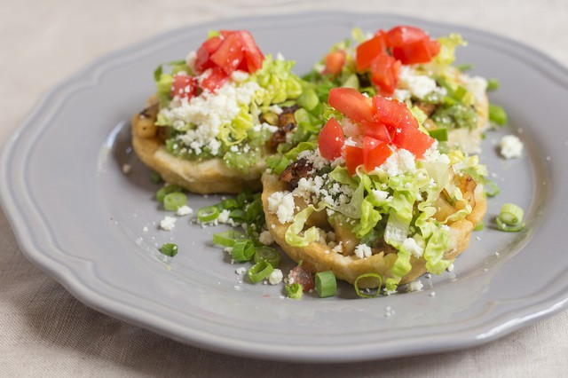 Sandra Gutierrez's Potato and Chorizo Sopes
