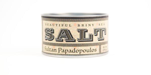 Beautiful Briny Sea Sultan Papadopoulos Sea Salt