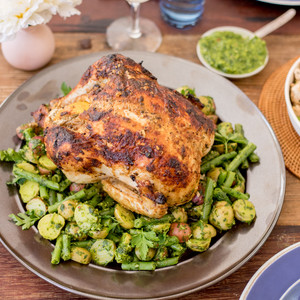 Nick Leahy's Provencal Chicken with Snap Beans, New Potatoes & Kale Pistou Kit