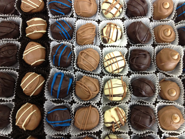 Stafford's Famous Chocolates, Hand-dipped Chocolate Truffles, California
