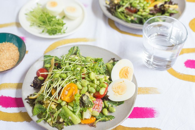 Late Summer Superfood Salad