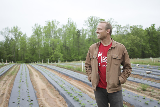 King of Pops Founder Steven Carse at the Farm by Isadora Pennington