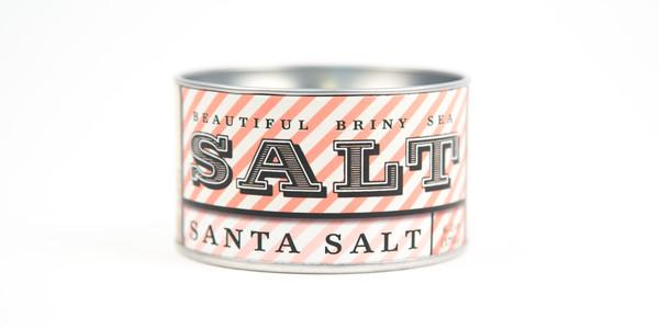 Beautiful Briny Sea Santa Sea Salt