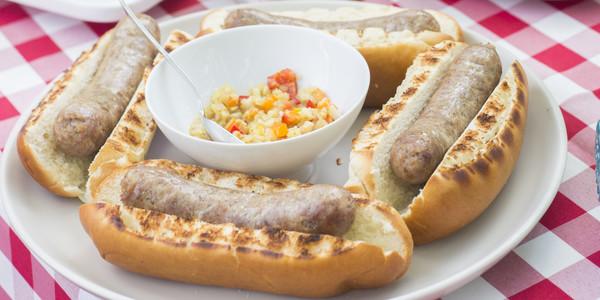 Four Pine Street Market 4 oz. Bratwurst