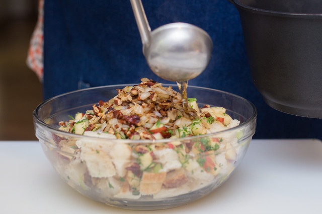 pecan apple dressing drizzle